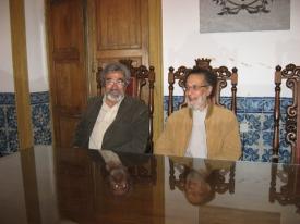 Cláudio Torres e Prof. Jorge Alarcão