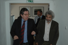 Mariano Gago e Cláudio Torres