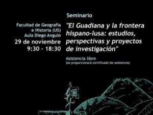 """Seminário """"El Guadiana y la frontera hispano-lusa""""_Sevilha"""
