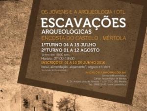 Campanha de Escavações Arqueológicas_2016