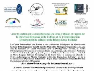 II Congresso Internacional sobre Capital Humano e Marketing Territorial – Ouarza