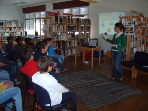 """The CAM Library participates in the """"Week of Reading"""" of the Group of Schools of Mértola"""