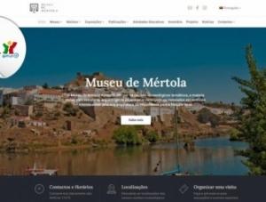Novo site do Museu de Mértola