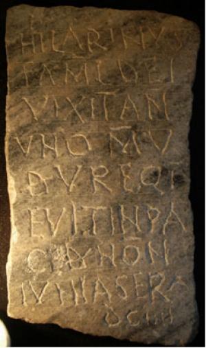Hilarinus epitath