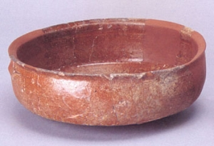 Pottery skillet
