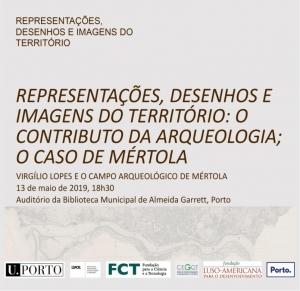 """""""Representações, Desenhos e Imagens do Território""""  Virgílio Lopes e o Campo Arqueológico de Mértola"""