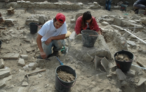 Escavações - Voluntariado