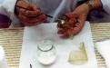 Preenchimento de lacunas - vidro