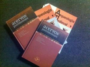 Lançamento de Acervos patrimoniais: novas perspetivas e abordagens e Arqueologia Medieval 12
