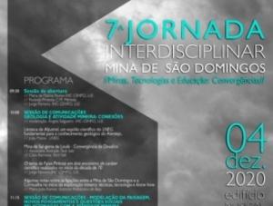 7ª Jornada Interdisciplinar – Mina de São Domingos