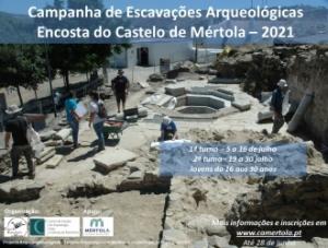 Campanha de Escavações Arqueológicas na Encosta do Castelo de Mértola_2021
