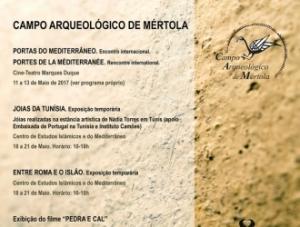 Programa das Actividades do CAM no 9º Festival Islâmico de Mértola
