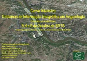 Curso Intensivo de Sistemas de Informação Geográfica em Arqueologia