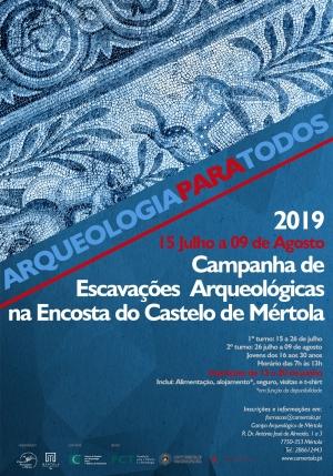 Campanha de Escavações Arqueológicas_2019