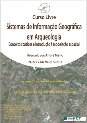 Curso Livre - Sistemas de Informação Geográfica em Arqueologia