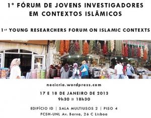 1º Fórum de Jovens Investigadores em Contextos Islâmicos