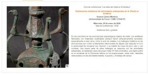 Conferência no Museu Arqueológico Nacional - Espanha