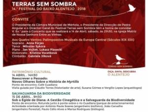 Festival Terras Sem Sombra, Mértola, 14 e 15 de Abril 2018