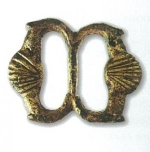 Fivela em bronze