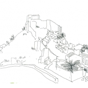 Desenho de Campo_Mértola