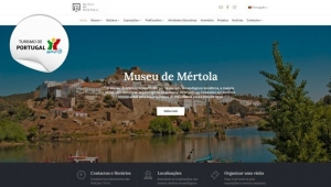 Novo site do Museu de Mértola