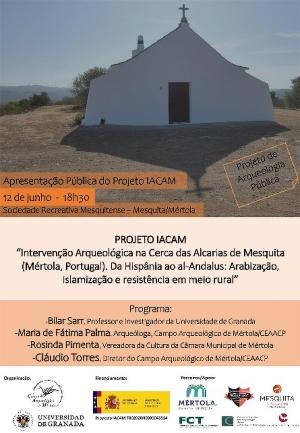 Apresentação Pública do Projeto IACAM