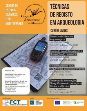 Cursos Livres 2012 - Técnicas de Registo em Arqueologia