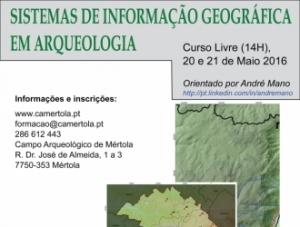 """Curso Livre: """"Sistemas de Informação Geográfica em Arqueologia"""""""