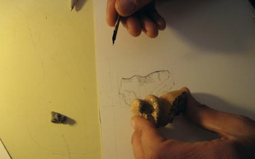Desenho de Materiais Arqueológicos
