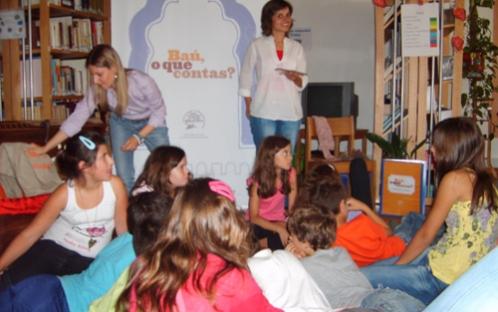 Atividades de promoção da leitura - 2012