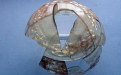 Frasco de vidro do século XI/XII