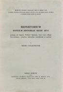 Repertorium fontium historiae Medii Aevi.