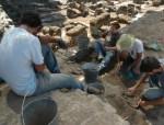 Escavações na Alcáçova do Castelo de Mértola
