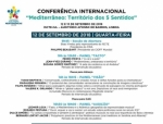 Mediterrâneo : Território Dos 5 Sentidos - Conferência Internacional