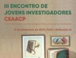 III Encontro de Jovens Investigadores| CEAACP
